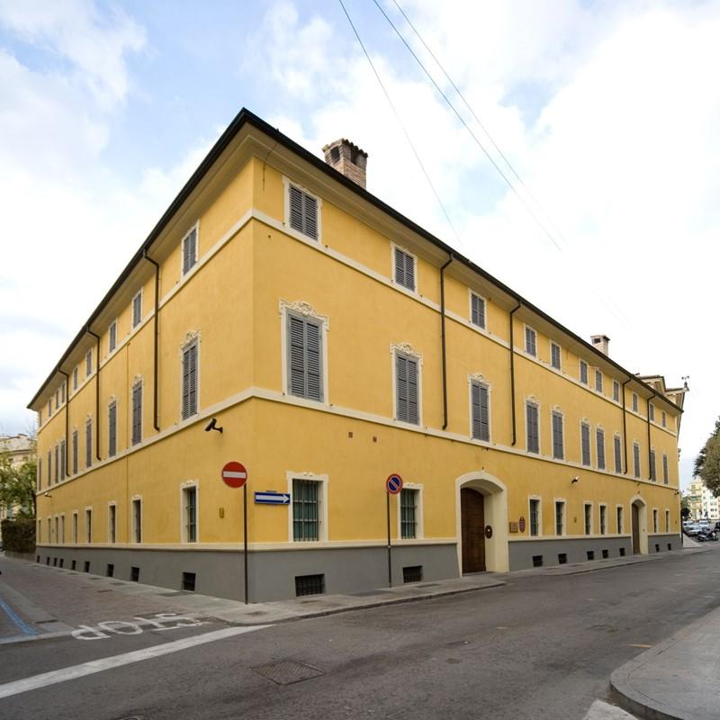 Palazzo Bossi Bocchi, sede della Fondazione Cariparma
