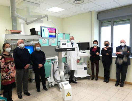 Ospedale di Vaio: nuova radiologia mobile in 3D