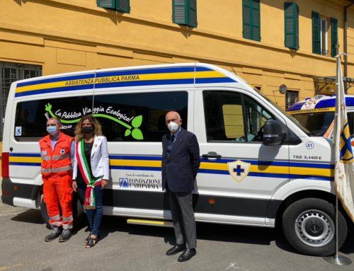 Nuovo automezzo per trasporto disabili della AP Parma