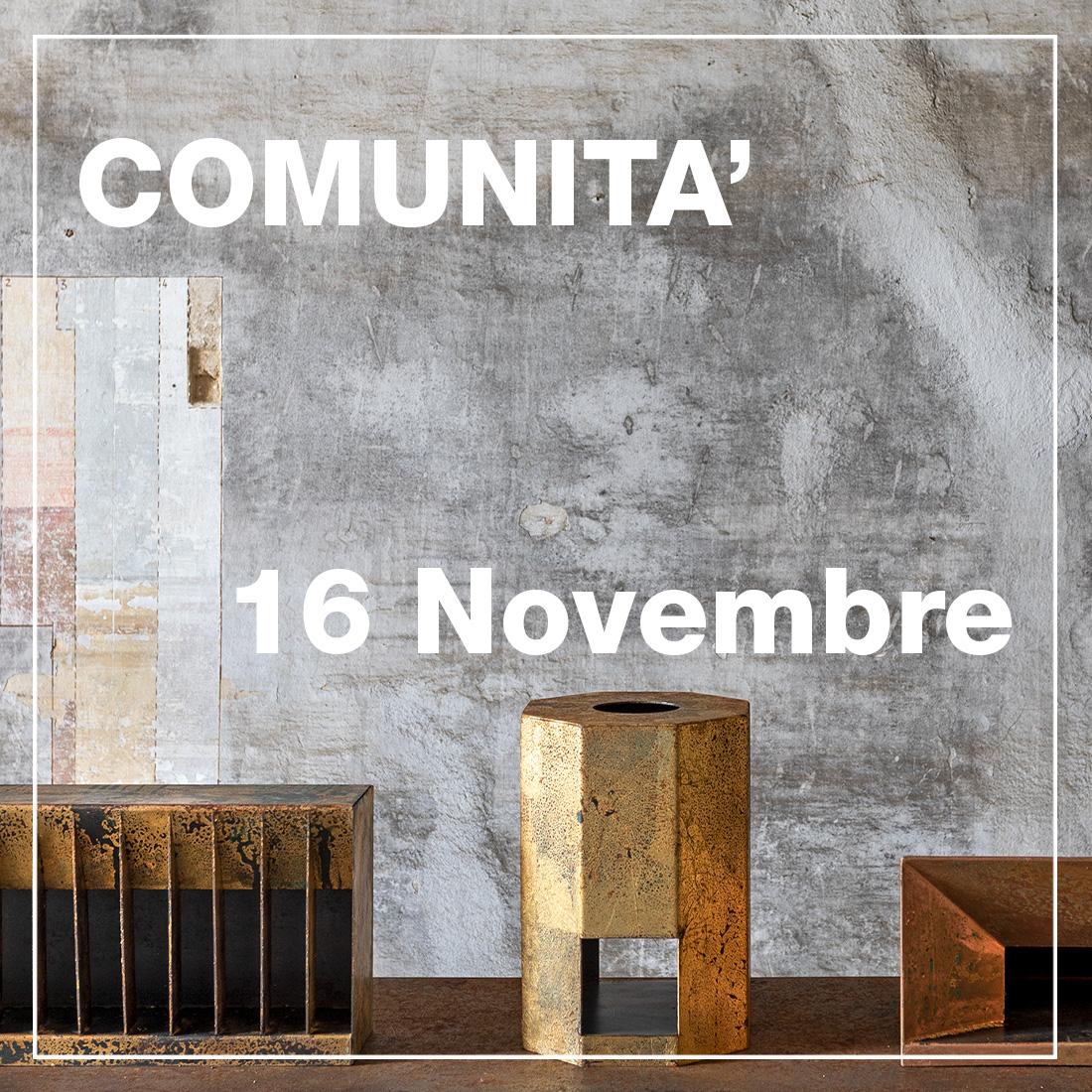 Comunità - 16 Novembre