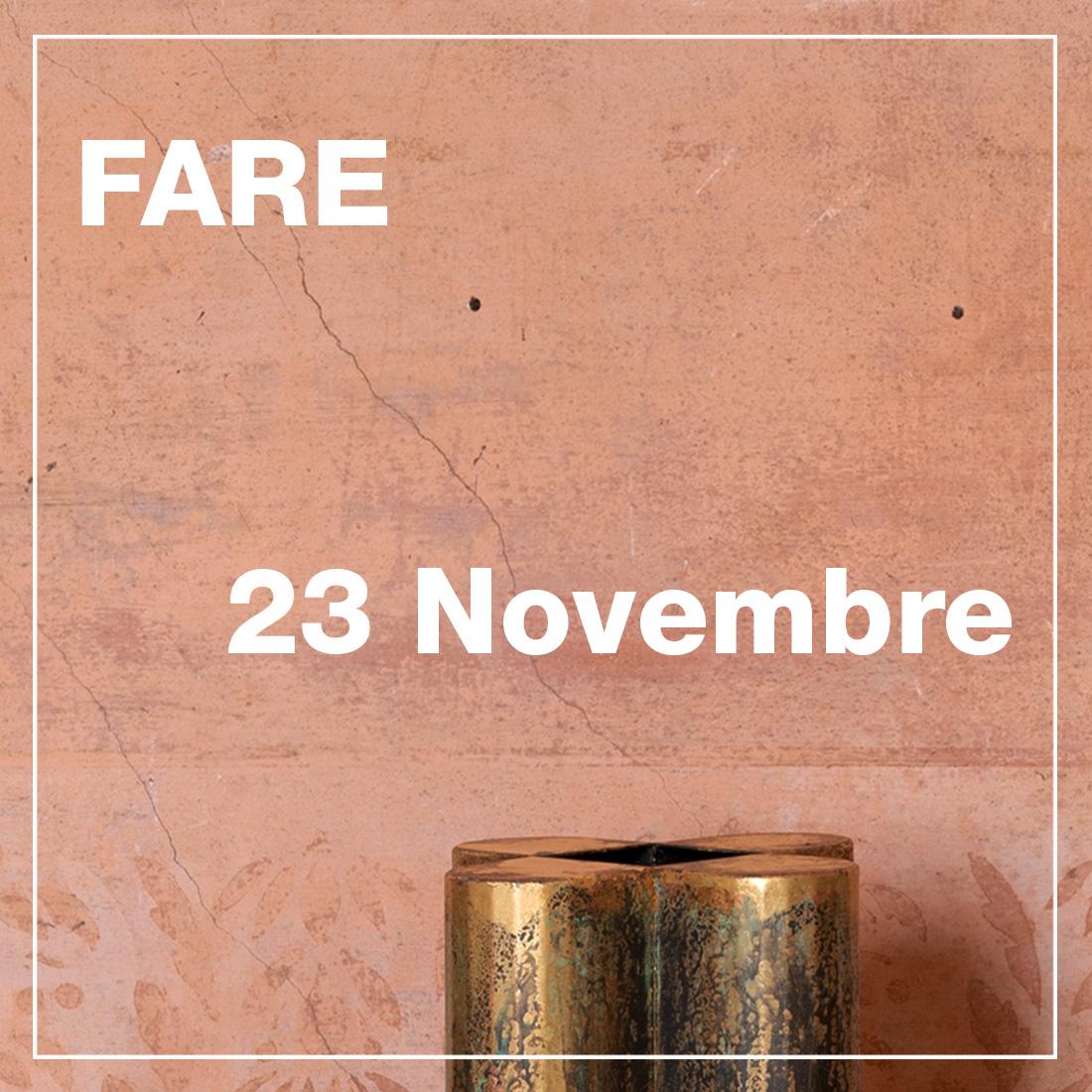 Fare - 23 Novembre